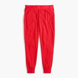 J. Crew NWT Pajama Jogger Pant in Waffled Cotton